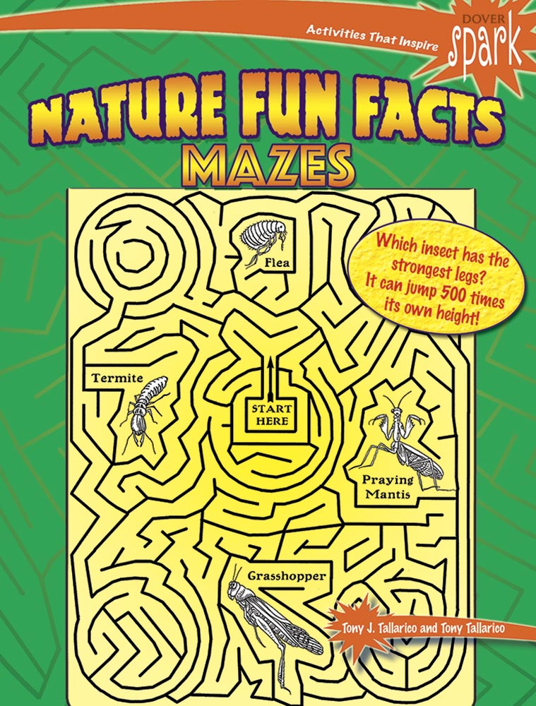 SPARK - Nature Fun Facts Mazes|タラリコ Jr., Tony J. & タラリコ Sr., Tony J.|ドーヴァー社