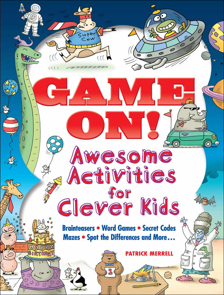 Game On! - Awesome Activities for Clever Kids|メレル, Patrick|ドーヴァー社|