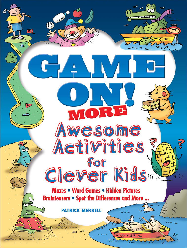 Game On! MORE - Awesome Activities for Clever Kids|メレル, Patrick|ドーヴァー社|