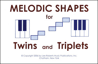 Melodic Shapes for Twins and Triplets: 48 Flashcards|ペース, Robert|ハル・レナード社|
