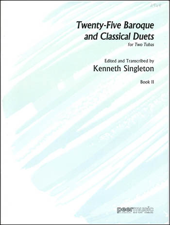 25 Baroque And Classical Duets Bk.2|ハル・レナード社|