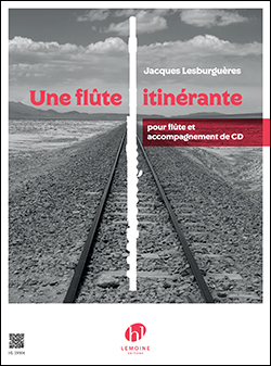 Une Flute Itinerante: 伴奏CD付|LESBURGUERES, Jacques|アンリ・ルモアンヌ社|